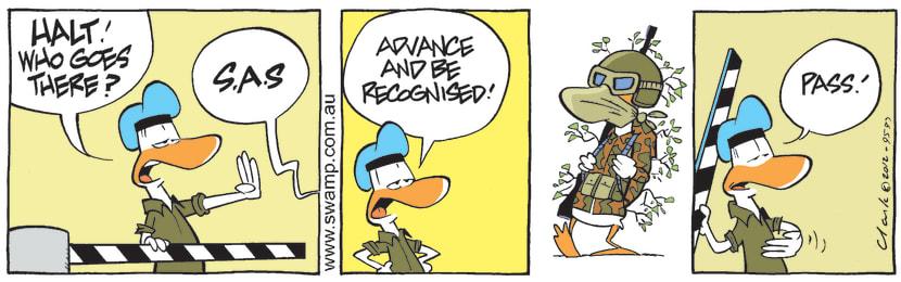 Swamp Cartoon - The FrontlineMarch 27, 2012