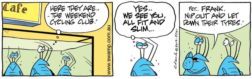 Swamp Cartoon - Cafe fun 2March 31, 2012
