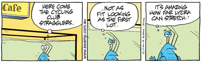 Swamp Cartoon - Cafe fun 3April 2, 2012