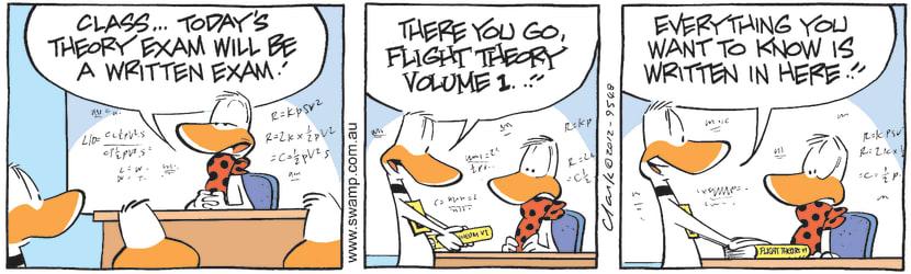 Swamp Cartoon - Theory Fun 2April 9, 2012
