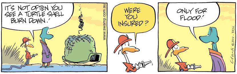Swamp Cartoon - Hot Stuff 4April 18, 2012