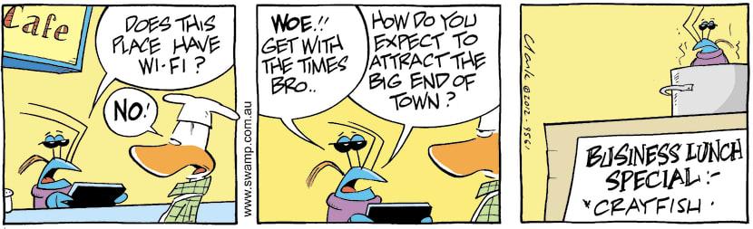 Swamp Cartoon - Get with it Man!April 24, 2012