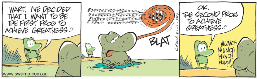 Swamp Cartoon - High Goals 1May 3, 2012