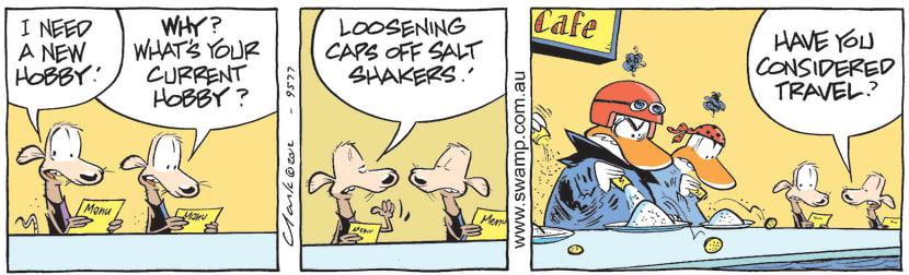 Swamp Cartoon - Wrong Victims 1May 12, 2012
