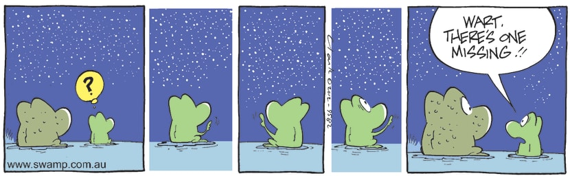 Swamp Cartoon - Twinkle Twinkle 1May 18, 2012
