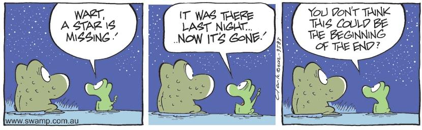 Swamp Cartoon - Twinkle Twinkle 2May 19, 2012