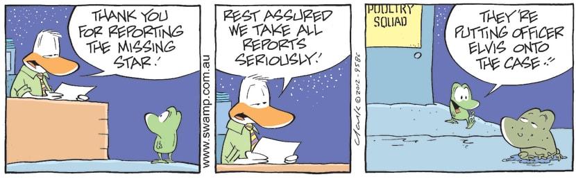 Swamp Cartoon - Twinkle Twinkle 5May 23, 2012