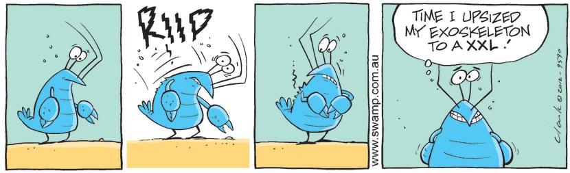 Swamp Cartoon - Growing PainsMay 28, 2012