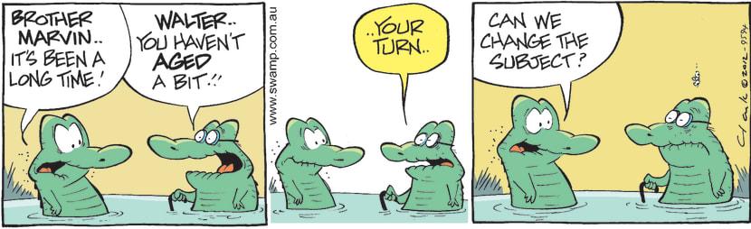 Swamp Cartoon - Family Fun 2June 1, 2012