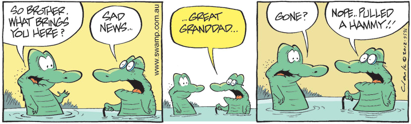 Swamp Cartoon - Family Fun 4June 4, 2012