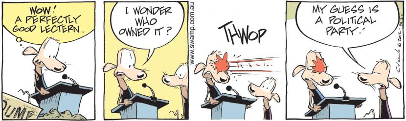 Swamp Cartoon - Cheese Rat Speaking HazardsMarch 29, 2021