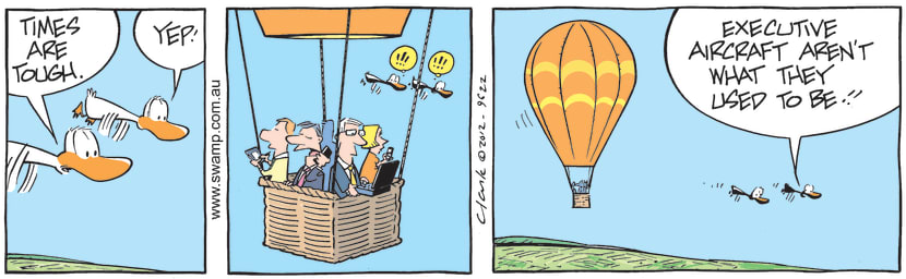 Swamp Cartoon - Business travelJuly 4, 2012