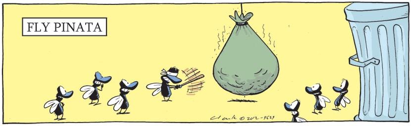 Swamp Cartoon - Fly Pinata ComicJuly 12, 2012