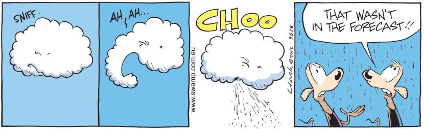 Swamp Cartoon - Rain CartoonJuly 23, 2012