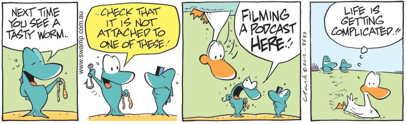 Swamp Cartoon - Podcast CartoonJuly 24, 2012