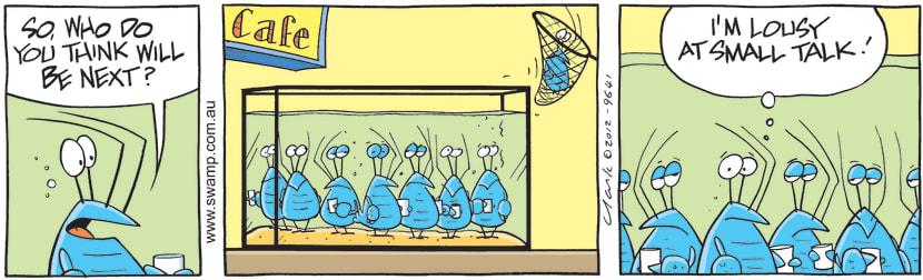 Swamp Cartoon - Small Talk CartoonJuly 26, 2012