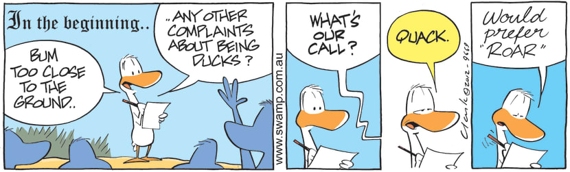 Swamp Cartoon - Call Sign ComicAugust 28, 2012