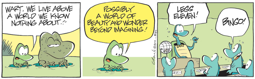 Swamp Cartoon - Above the World ComicSeptember 12, 2012
