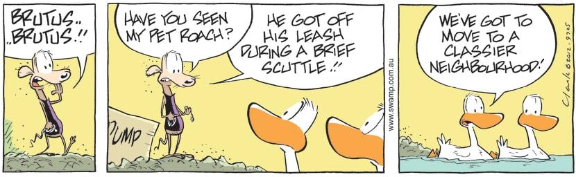 Swamp Cartoon - Lost friend ComicOctober 9, 2012