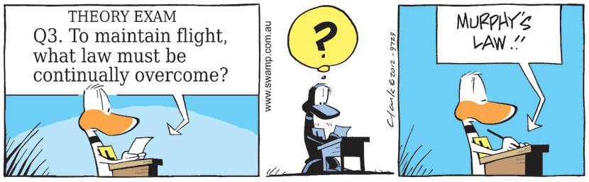 Swamp Cartoon - Maintain Flight ComicNovember 6, 2012