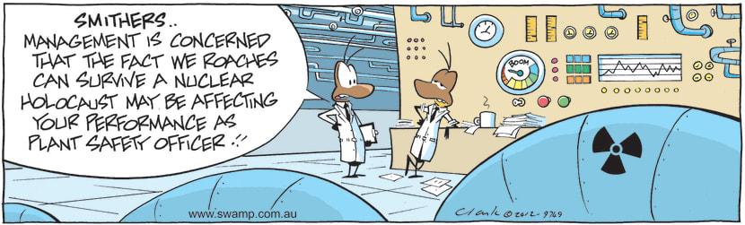 Swamp Cartoon - Safety Measures ComicNovember 29, 2012