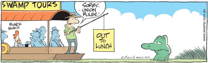 Swamp Cartoon - Union Rules!December 18, 2012