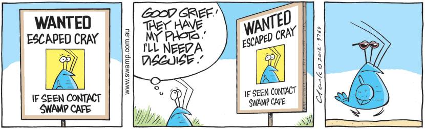 Swamp Cartoon - Wanted! ComicJanuary 15, 2013