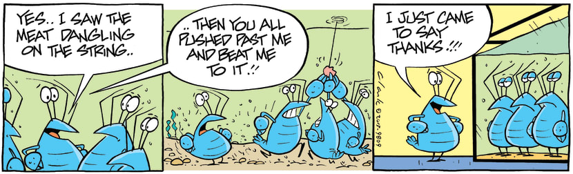 Swamp Cartoon - Don't Be Tempted ComicMarch 2, 2013