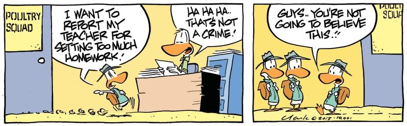 Swamp Cartoon - Nice Try KidsOctober 12, 2013