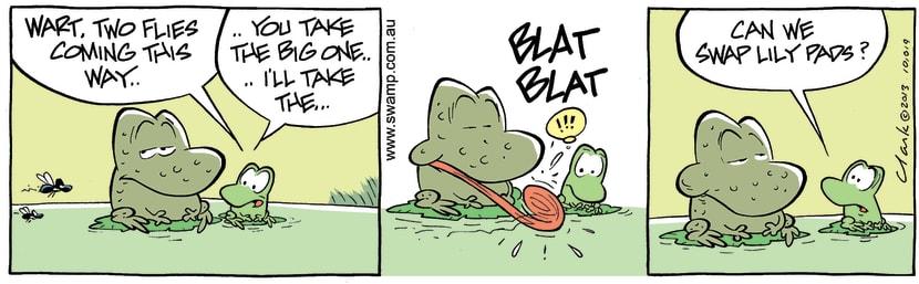 Swamp Cartoon - Good Opportunity ComicNovember 2, 2013