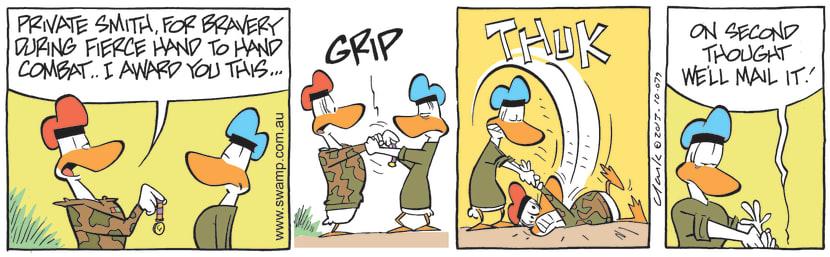 Swamp Cartoon - Private Smith ComicJanuary 14, 2014