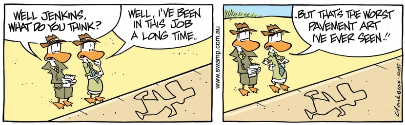 Swamp Cartoon - Well Jenkins ComicFebruary 1, 2014
