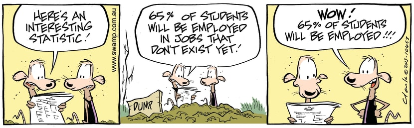 Swamp Cartoon - Swamp Rats Employment ComicJuly 13, 2015