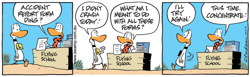 Swamp Cartoon - Flight Instructor Forms ComicSeptember 16, 2015