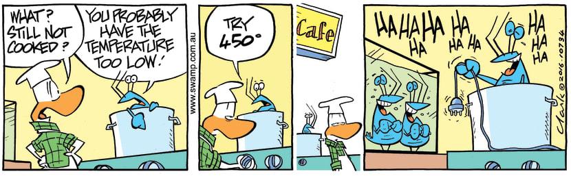 Swamp Cartoon - Bob Crayfish Plug ComicMay 24, 2016
