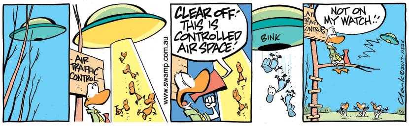 Swamp Cartoon - Bomb Disposal ComicDecember 21, 2017