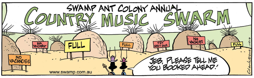 Swamp Cartoon - Swamp Ants Vacancy ComicNovember 28, 2018