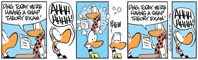 Swamp Cartoon - Ding Duck DaydreamAugust 26, 2019