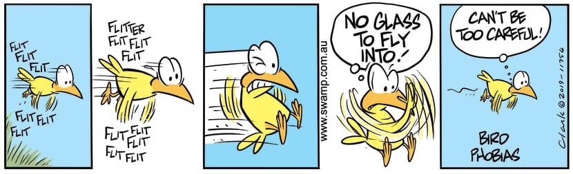Swamp Cartoon - Swamp Bird PhobiasAugust 30, 2019
