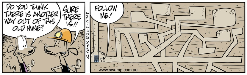 Swamp Cartoon - Cheese Rat Mine EscapeSeptember 10, 2019
