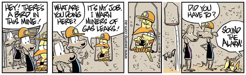 Swamp Cartoon - Cheese Rat Gas LeakSeptember 24, 2019