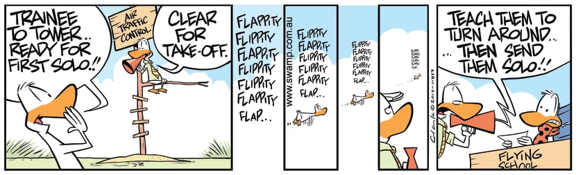 Swamp Cartoon - Air Traffic Control InstructionsJanuary 1, 2020
