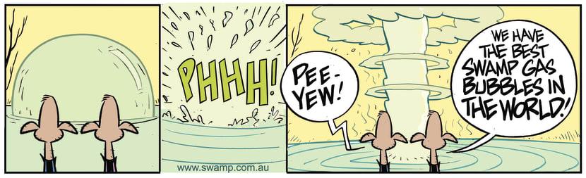 Swamp Cartoon - Best Swamp Gas BubblesJanuary 29, 2020