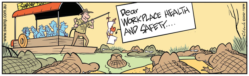 Swamp Cartoon - Workplace Health and SafetyFebruary 17, 2020