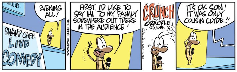 Swamp Cartoon - Reggie Roach Evening AllMarch 17, 2020