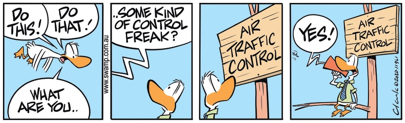 Swamp Cartoon - Air Traffic Control FreakMay 1, 2020