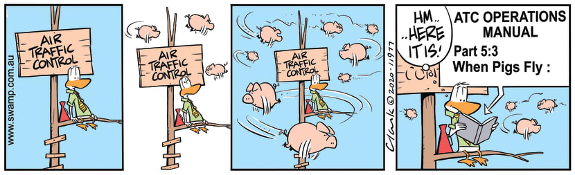 Swamp Cartoon - When Pigs Fly ManualMay 20, 2020