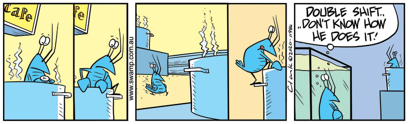 Swamp Cartoon - Bob Crayfish Double ShiftMay 28, 2020