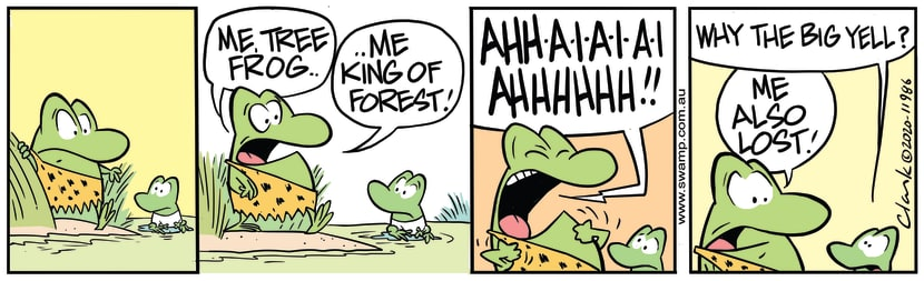 Swamp Cartoon - Me, King of ForestMay 30, 2020