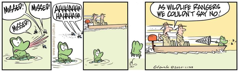 Swamp Cartoon - Rangers Couldn't Say NoJune 8, 2020